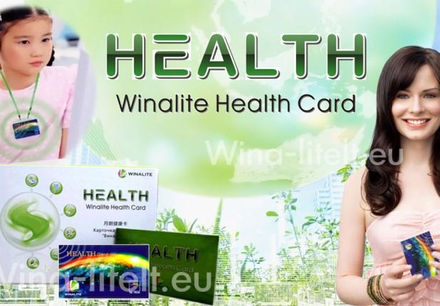 Antiradiacinė kortelė HEALTH CARD